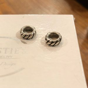 Two Pandora Spacers for charm bracelet